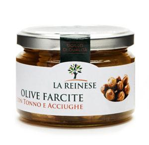 Olive farcite con tonno 240g