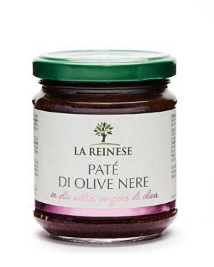 Black olive paté in extra virgin olive oil