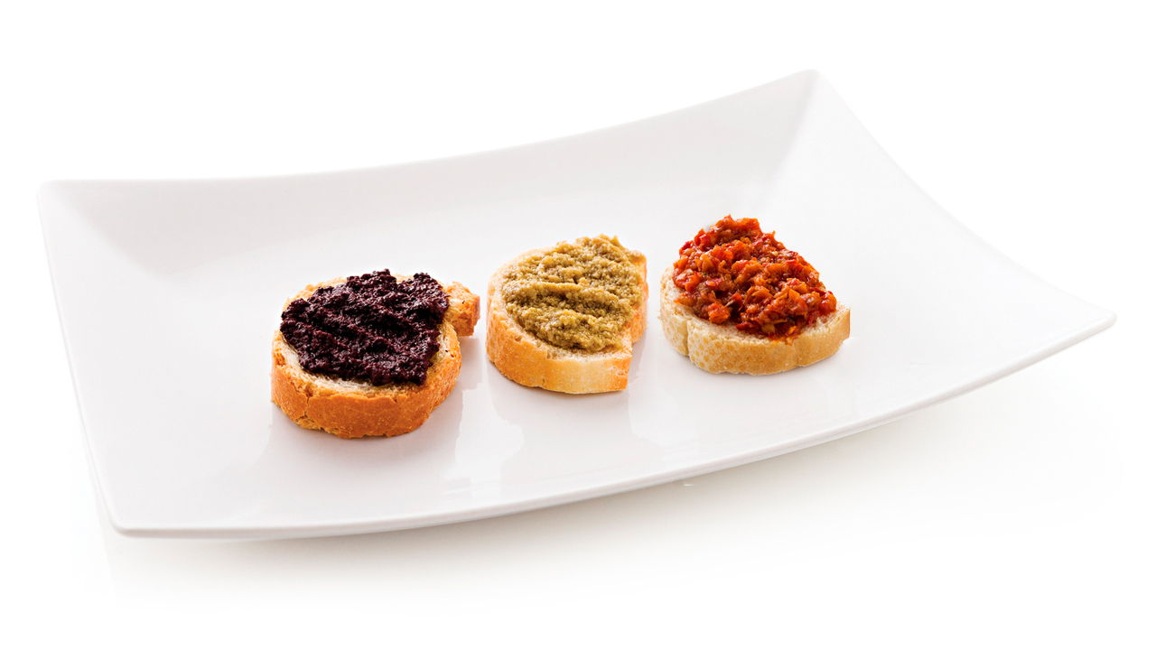 Patè and sauces